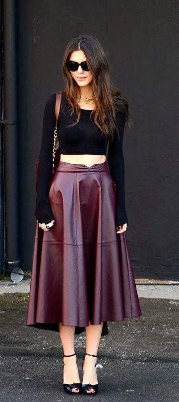 The Fashion Mood Book: Alerta Tendência_Midi Skirts (how to wear the trend)