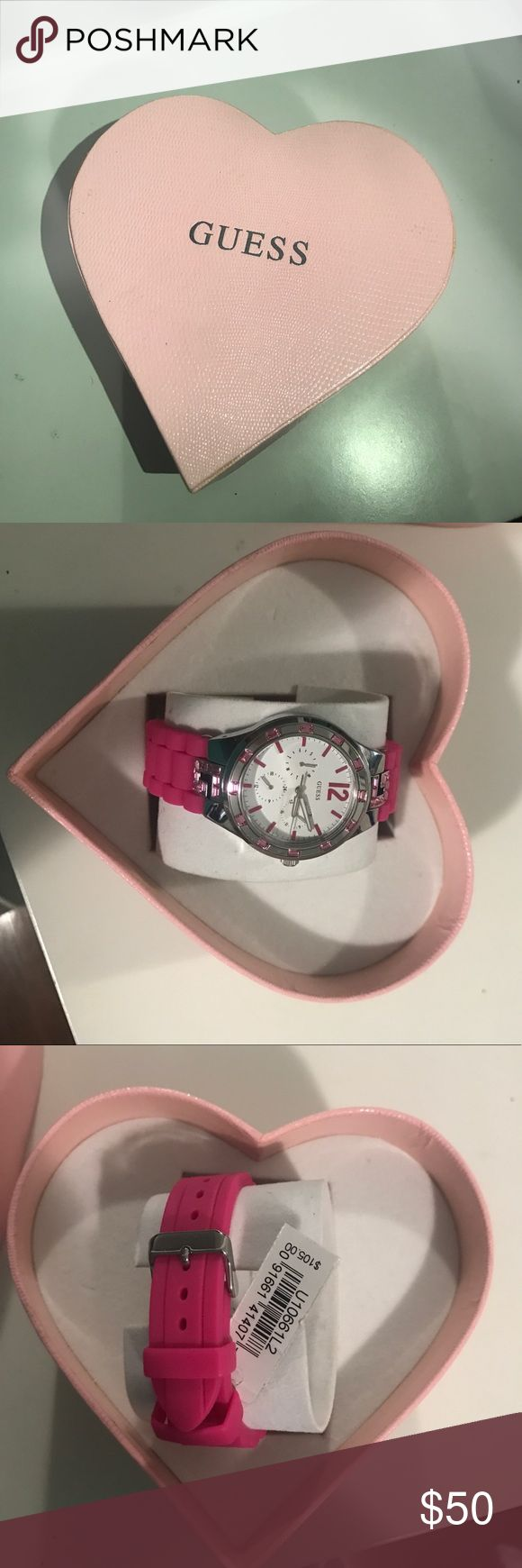Guess watch Pink, cute, watch, girly Guess Accessories Watches