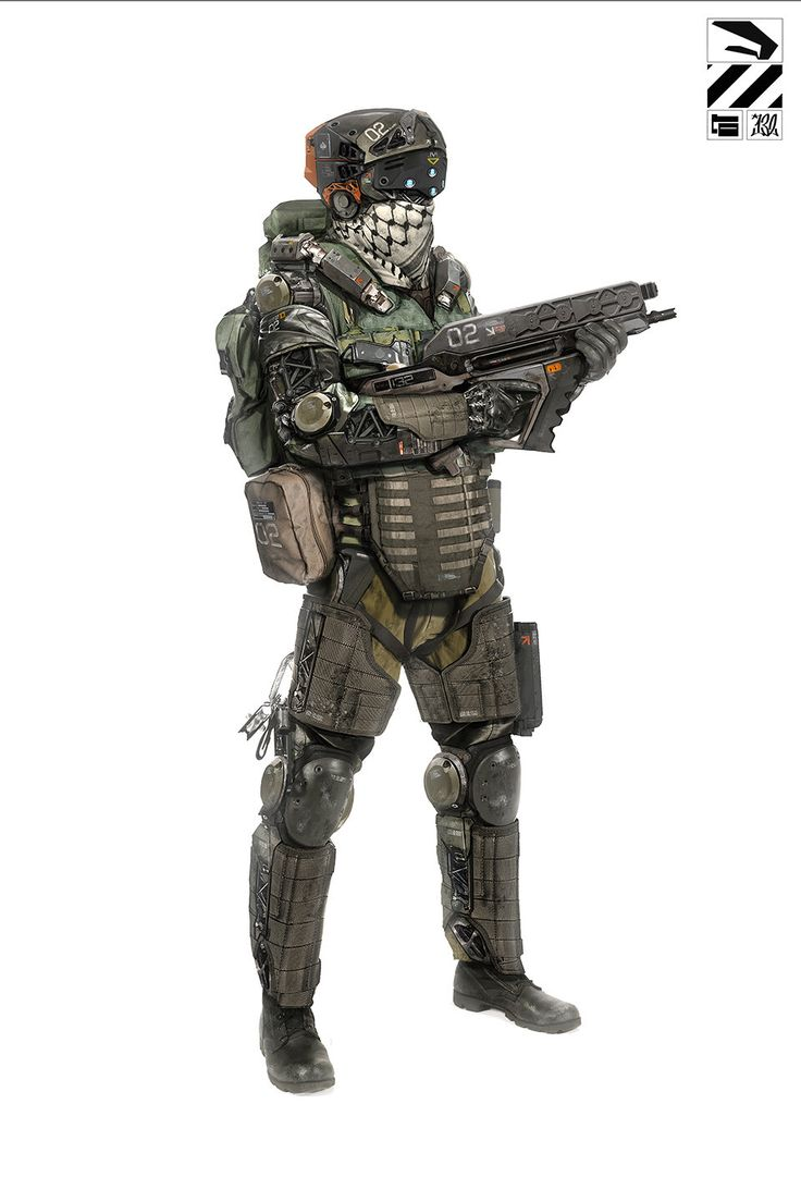 CAF Commandoes STR Trooper /// Standardkampfausrüstung mit Exoskelett und Panzerung