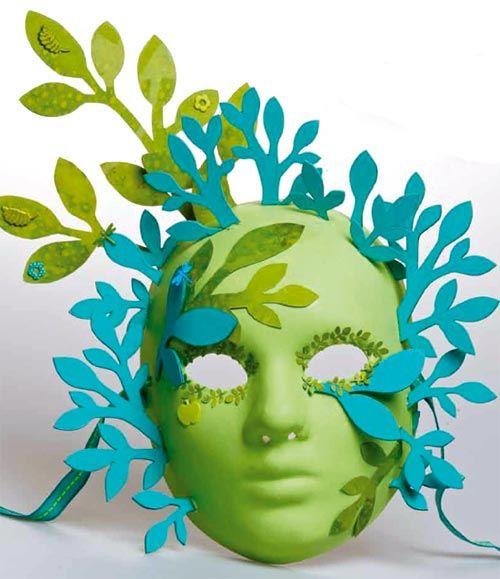 Manos Maravillosas Carnaval: Nuevas Mascaras para carnaval