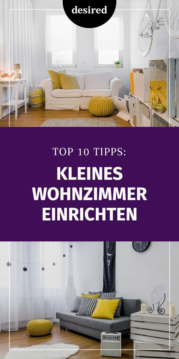 Kleines Wohnzimmer einrichten Top 10 Tipps! Wohnen / Deko