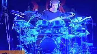 Chad Wackerman TamTam DrumFest 2012 - Roland V-Drums #01