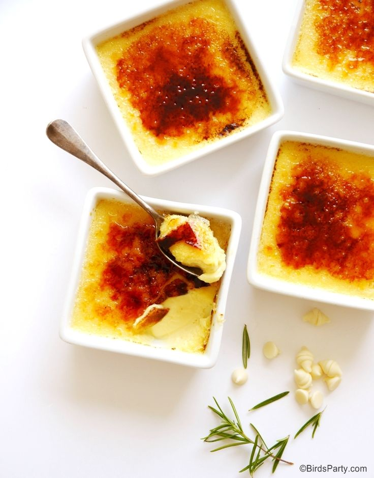 Best 25 White Chocolate Creme Brulee Ideas On Pinterest