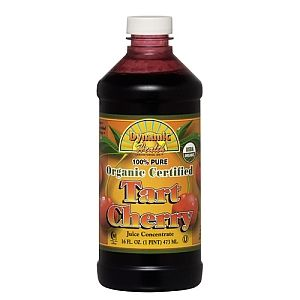 My miracle in a bottle - just mix with water and a packet of Stevia for the daily dose. Dynamic Health Tart Cherry Juice Concentrate - DYNAMIC HEALTH - GNC