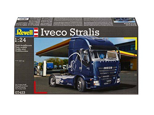 Revell – 07423 – Maquette De Camion – Iveco Stralis – 297 Pièces – Echelle 1/24: Descriptif produit: Maquette de camion à monter et à…