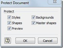 Protect Document And Shapes In Visio 2010 #vpn #visio #stencil http://autos.nef2.com/protect-document-and-shapes-in-visio-2010-vpn-visio-stencil/  # Protect Document And Shapes In Visio 2010 How To Properly Crop Pictures Inside An MS Word Document For document protection, click Protect Document button in Quick Access toolbar. It will bring up Protect Document dialog, showing list of Visio elements; Styles, Shapes, Preview, Backgrounds and Master shapes. Enable desired elements and click OK…