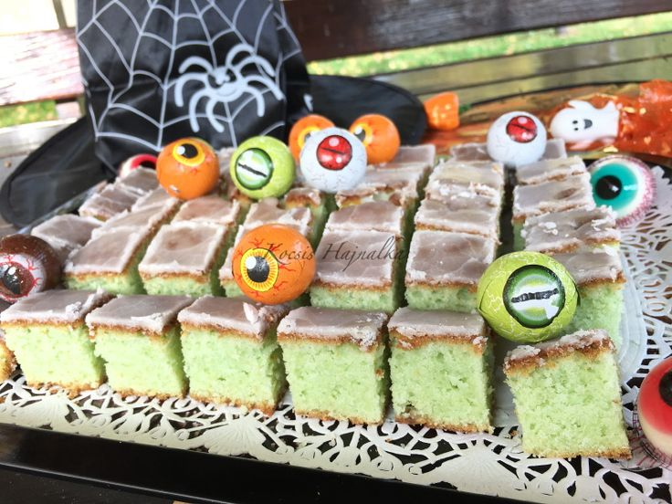 "Poison cake ""méreg süti"" Halloween-re"