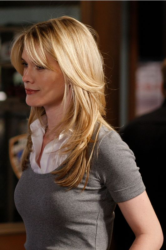 Stephanie March ---  Maybe this length....  but more layers and no bangs?