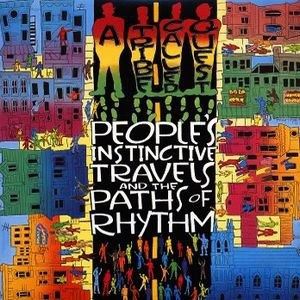 A TRIBE CALLED QUEST.... Debut album - People Instinctive Travels and the Paths of Rhythm