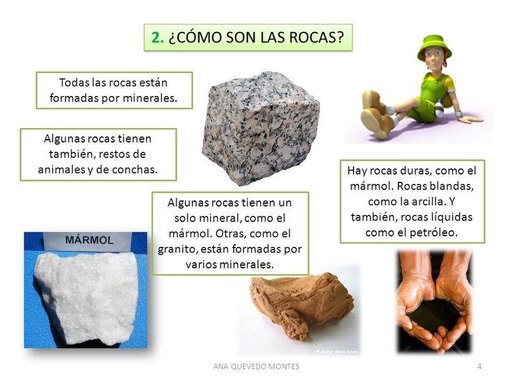 Como son as rochas