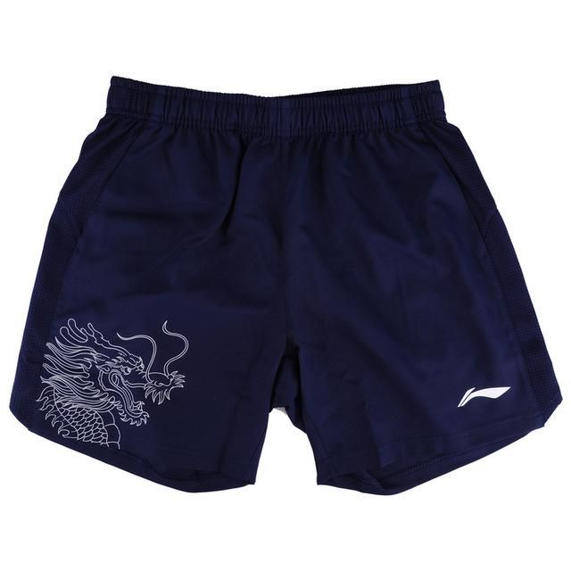 Li-Ning Men Table Tennis Sport Shorts Breathable Competition Badminton LiNing Sports Shorts AAPM075 MKY342