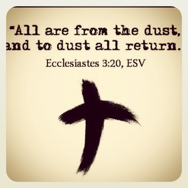 Ash Wednesday today, Have to go get my ashes after work. God Bless Everyone!