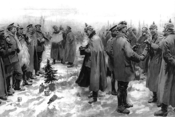 The spontaneous 1914 Christmas truce during WWI remains an incredible and fascinating story