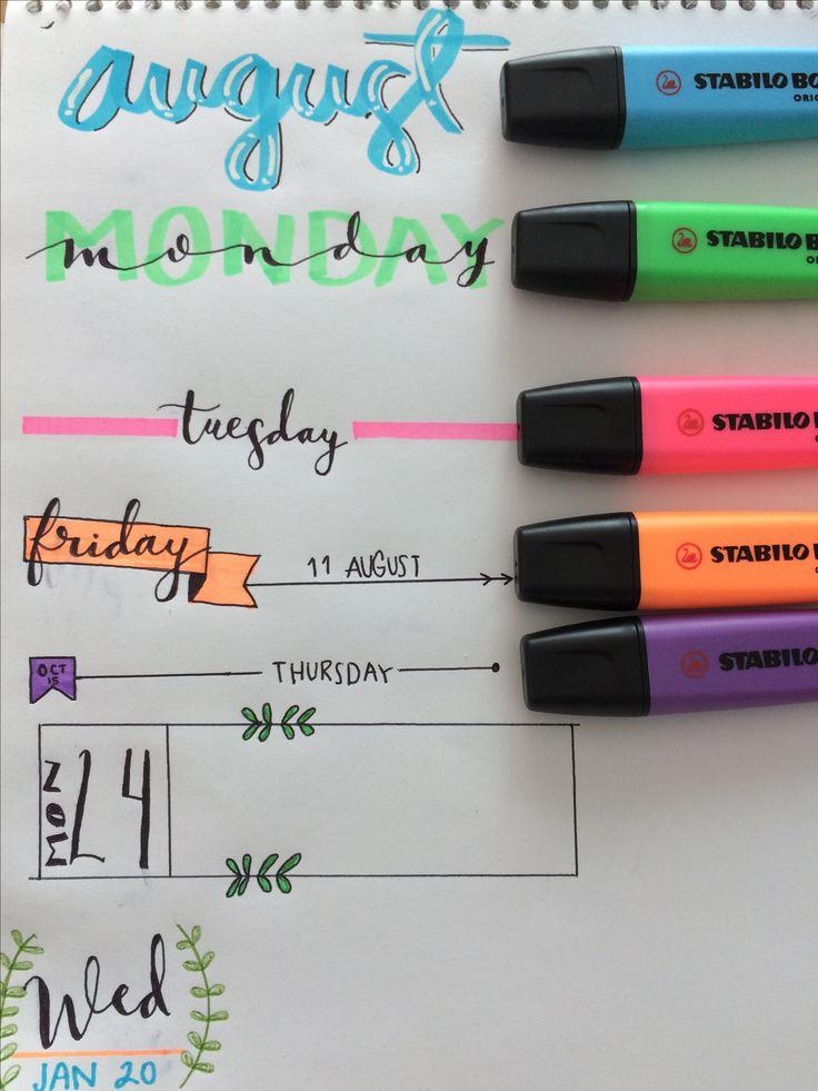 Idea para fechas