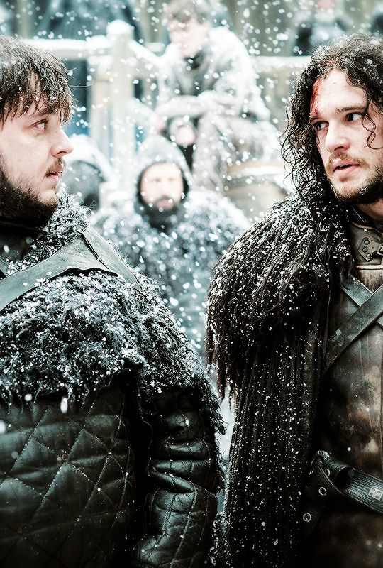 "Sam & Jon | Game of Thrones 5.09 ""The Dance of  Dragons"" {x}"