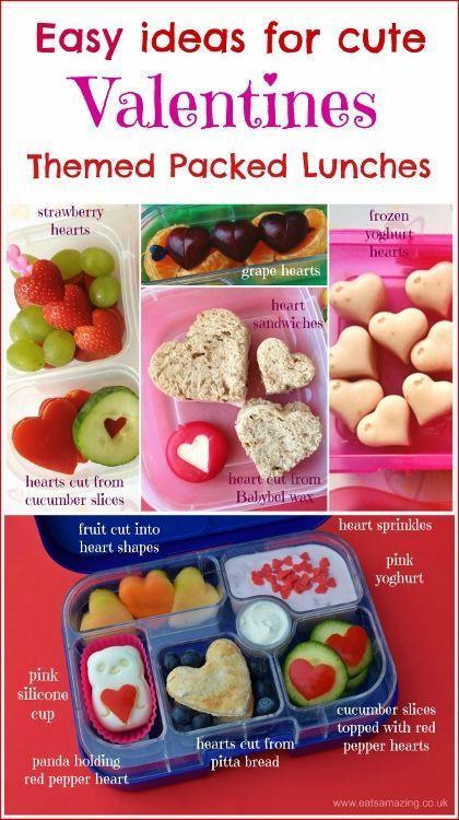 91 best Cute Valentines Day Food images on Pinterest | Children ...