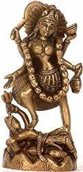 Mother Kali - Brass Statue