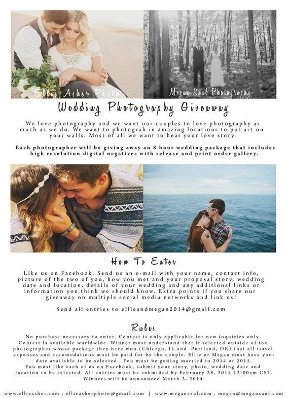 World Wide Wedding Photography Giveaway » Megan Saul Photography