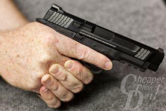 Handgun Basics 101: Get a Good Grip