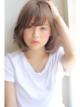 【GARDEN】小顔ミディアム×ノームコア(田塚裕志) - 24時間いつでもWEB予約OK!ヘアスタイル10万点以上掲載!お気に入りの髪型、人気のヘアスタイルを探すならKirei Style[キレイスタイル]で。