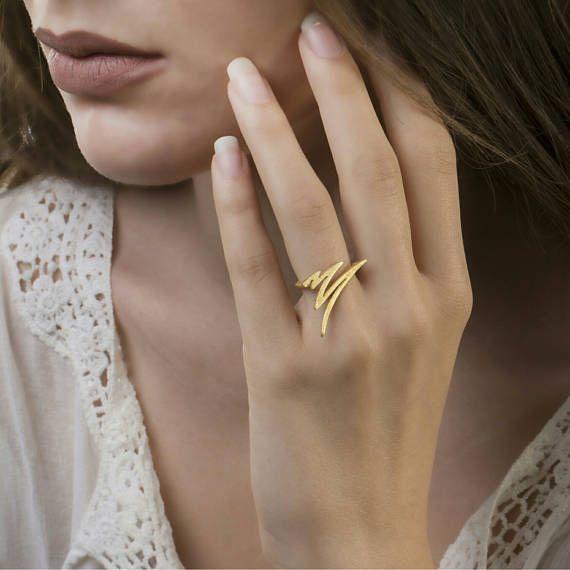 Ελάχιστη Δαχτυλίδι 925 ασημένιο δαχτυλίδι Σύγχρονου Κοσμήματος Σύγχρονη