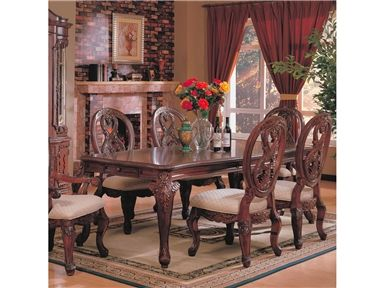 shop for coaster dining table 101021 and other dining room dining tables at americana. beautiful ideas. Home Design Ideas
