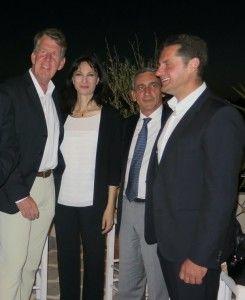 Στη Ρόδο η κα Κουντουρά - Συναντήθηκε με το Περιφερειάρχη Ν. Αιγαίου και τον επικεφαλής της Tui Group