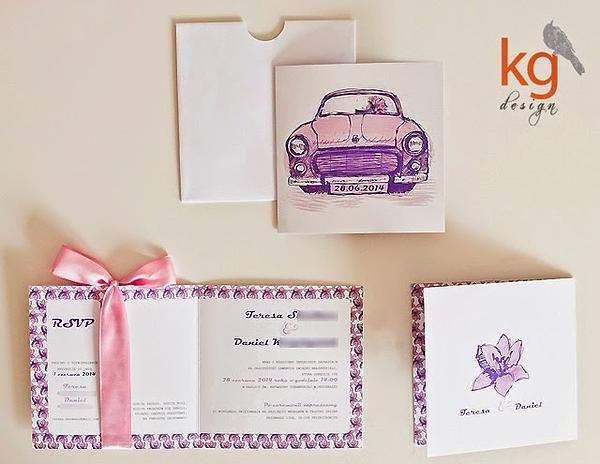 KG Design Papeteria Ślubna | syrena 105