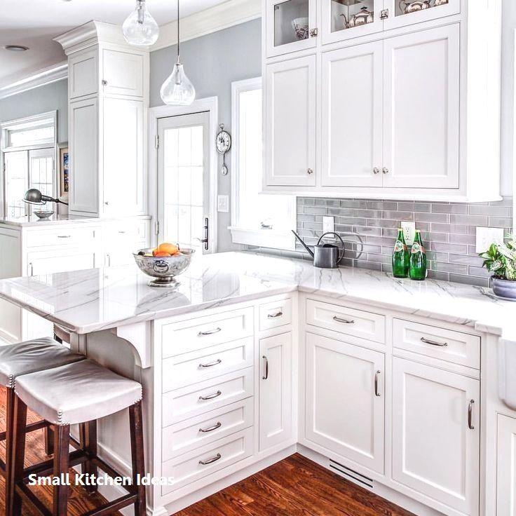 Home Decor 2019 Small Kitchen Design Ideas Smallkitchen Kitchendecor In 2020 White Kitchen Design Kitchen Design Small Kitchen Renovation