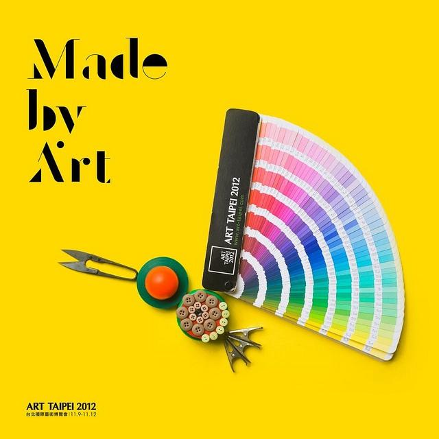 ART TAIPEI 早鳥海報系列設計 by 顏伯駿, via Flickr