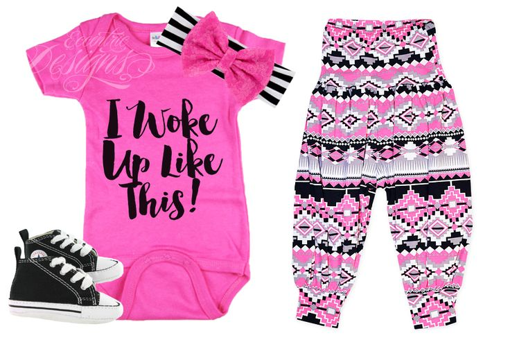 I Woke Up Like This (Beyonce) - Baby Iron-on Tshirt Transfer (Shirt | Onesie | Birthday Party | Baby Shower | Gift | Photography Prop | Funny) / Baby Onesie DIY / Baby Onesies Funny / Baby Onesie Ideas / Baby Onesie DIY / Baby Funny Shirt / Baby Funny Sayings / Baby Shirt Saying / Baby Shirt DIY / Baby Shirt / Baby Onesie For Girl
