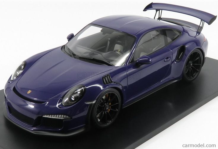 SPARK-MODEL 12S010 Scale 1/12  PORSCHE 991 991 GT3 RS COUPE 2016 PURPLE