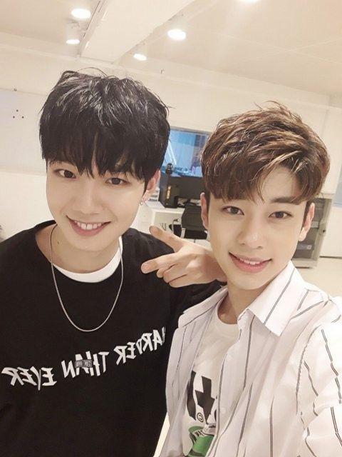 Youngmin and Donghyun