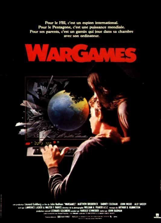 """""""War Games"""" starring Mathew Broderick & All Sheedy"""