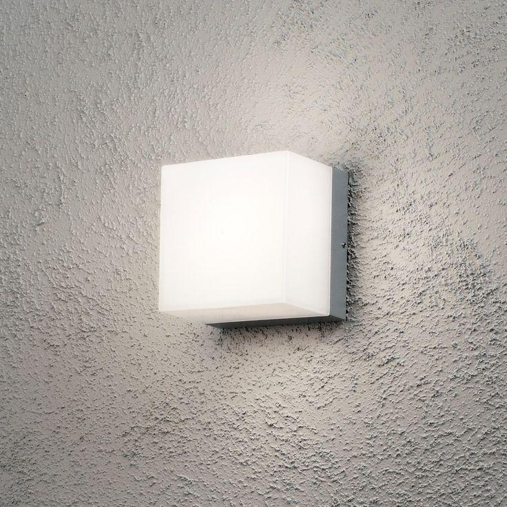 Seinävalaisin 7926-312 Sanremo 140x140x110 mm GX53 alumiini/opaalilasi