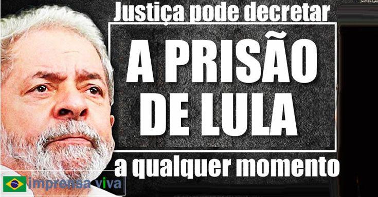O ex-presidente Lula pode ter sua prisão preventiva decretada a qualquer, logo após a homologação da delação da Odebrecht pelo Supremo T...