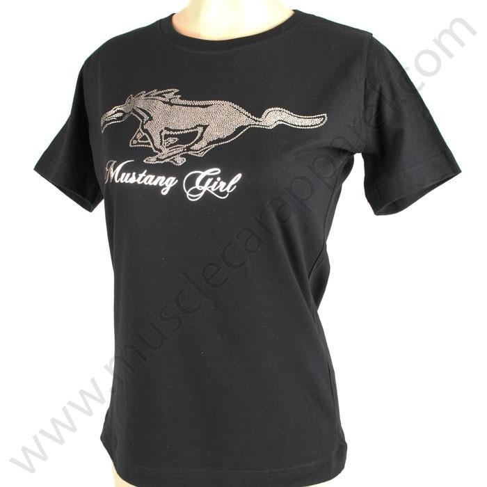 Ford Mustang T Shirt for Women - Screen print $18.95