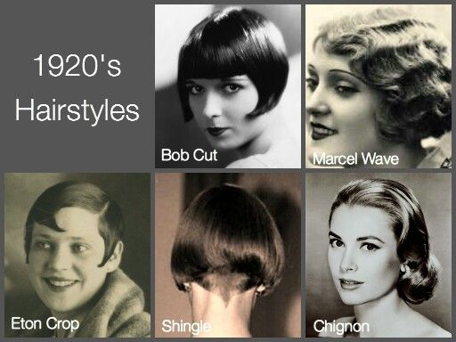 At that era the lenght of women hair started becoming shorter and shorter, they satrted working and becoming  independent. The bob haircut became a trend.