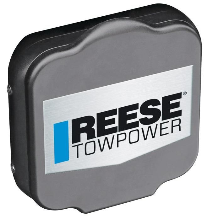 Reese TowPower 7074630 Trailer Hitch Receiver Cover, Black, Plastic, 3""