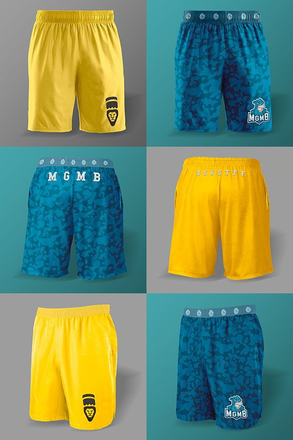 Download A Three Piece Mockup Collection Showing The Front Side And Back Of Shorts For Men The Psd Has Sepa Clothing Mockup Free Logo Mockup Psd Psd Template Free