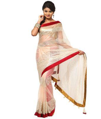 Self Design Gf 12 Bollywood Sarees Online on Shimply.com