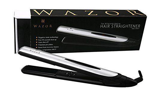 [$18.2 save 83%] Amazon Lightning Deal 77% claimed: Wazor Hair Flat Iron 1 Inch Ionic Ceramic Hair Straightener ... #LavaHot http://www.lavahotdeals.com/us/cheap/amazon-lightning-deal-77-claimed-wazor-hair-flat/134683