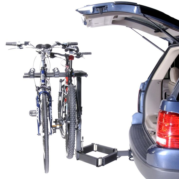 2x2 Advantage GlideAway Deluxe 4-Bike Carrier - Black