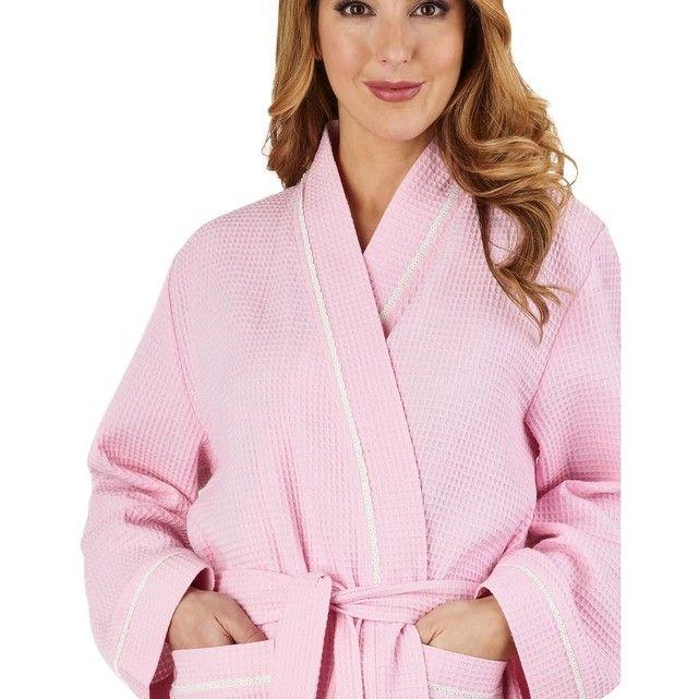 Robe De Chambre Waffle Taille S M L Xl Robe De Chambre Robe