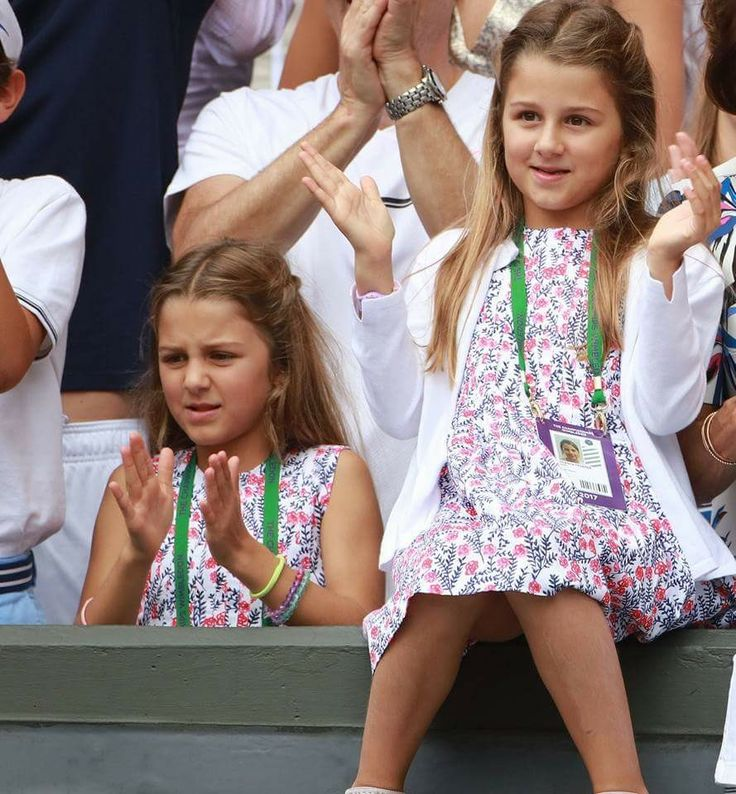 The Federer twins