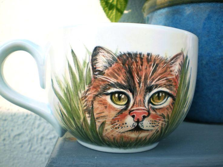 Auftragsarbeit für einen Katzenfreund