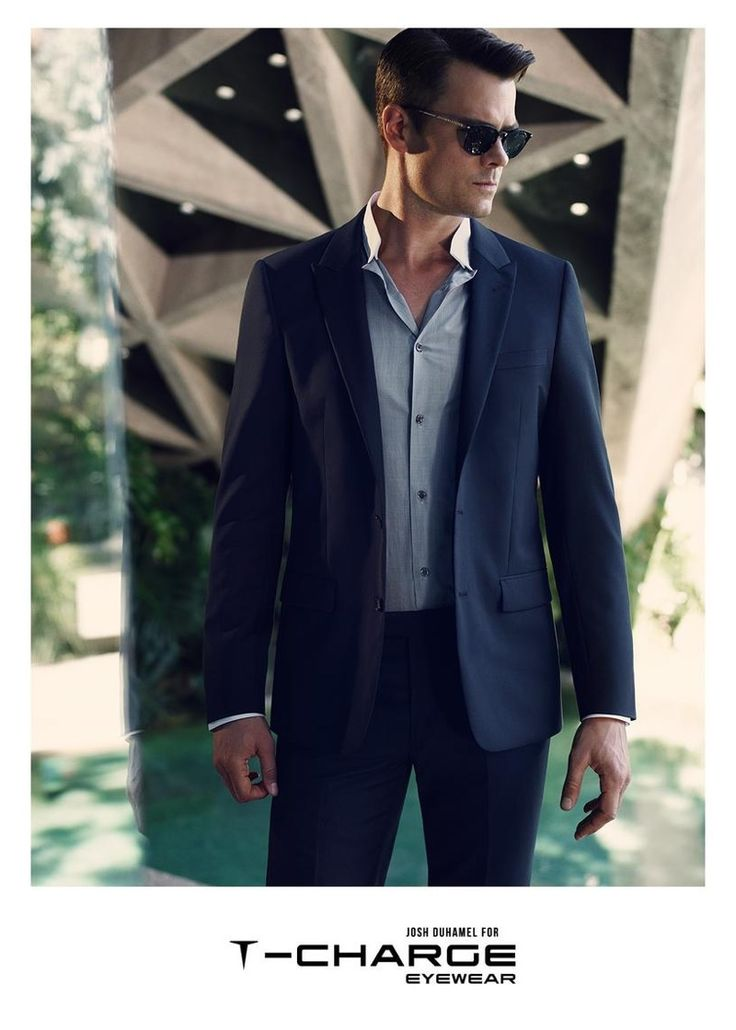 Josh Duhamel Rocks Shades & Optical Eyewear for T Charge 2014 Campaign image Josh Duhamel T Charge Eyewear Campaign 003
