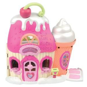Hasbro My Little Pony Ponyville Sweet Shoppe  The Sweet Shoppe playset has two fun-filled levels for lots of pony play Playset comes with Sweet Be  http://www.comparestoreprices.co.uk/dolls/hasbro-my-little-pony-ponyville-sweet-shoppe.asp