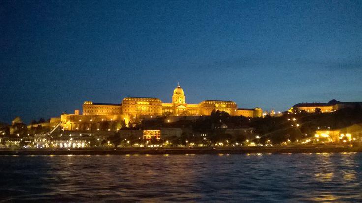 #Budapest, Budai vár este :)