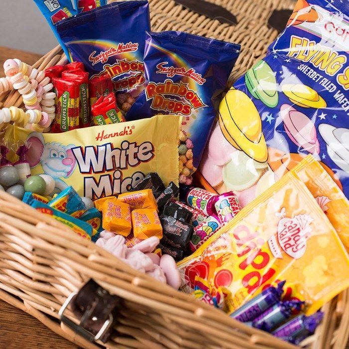 Retro Sweet Hamper | GettingPersonal.co.uk